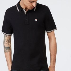《NWT》Fila Matcho 3 Polo (SM) black